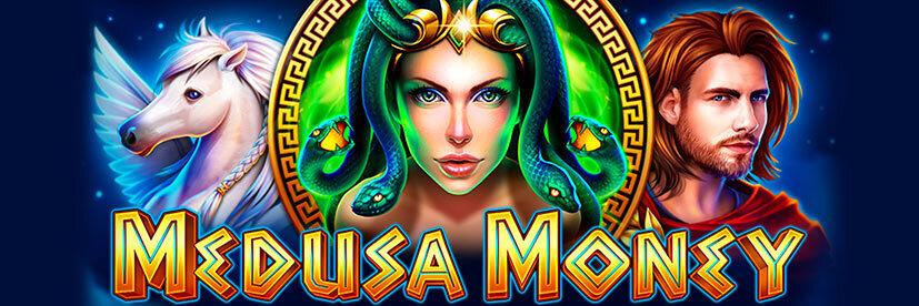 Greece themed slots Medusa Money Rubyplay