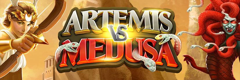 Artemis vs Medusa Quickspin art